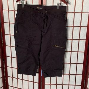 Lee relaxed fit black cargo shorts
